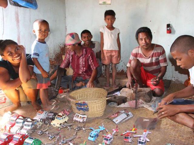l'artisanat malgache