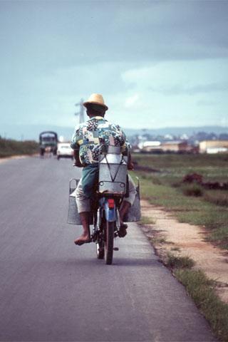 VTT et randonnées équestres à Madagascar.