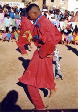 Danse traditionelle malgache.