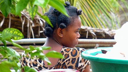 Jeune femme Malgache.