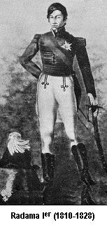 Radama, Roi de Madagascar.