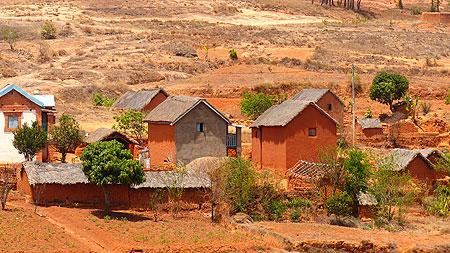 Village malgache.