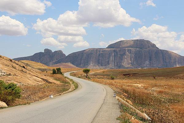 Massifs et plateaux de Madagascar.