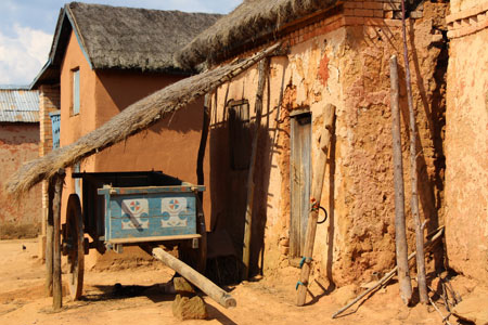 Antananarivo, Capitale de Madagascar.