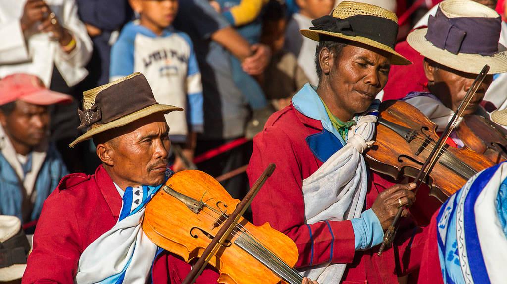 Fête, Hira Gasy, à Madagascar.