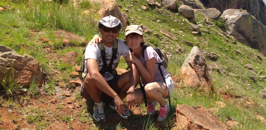 Emmanuelle et Patrice, fondateurs de Madagascar Autrement.