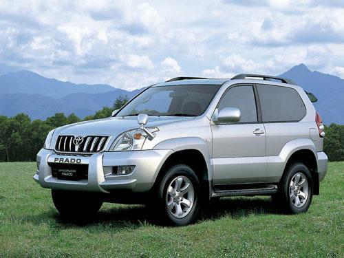 Prado, véhicule proposé par Madagascar Autrement.